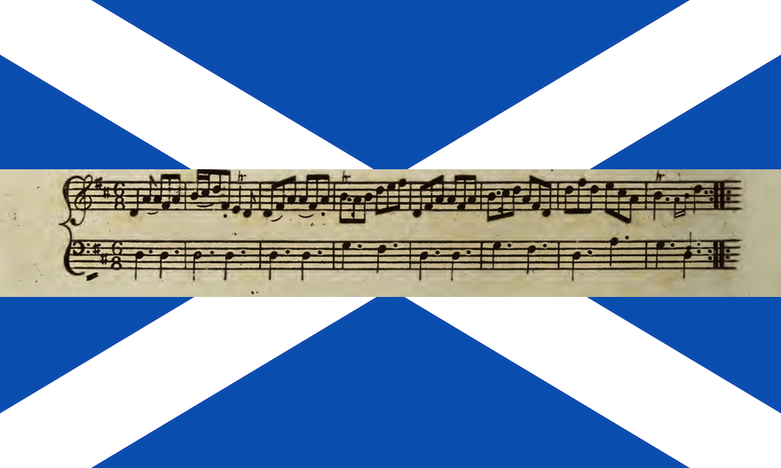 Flag and Music